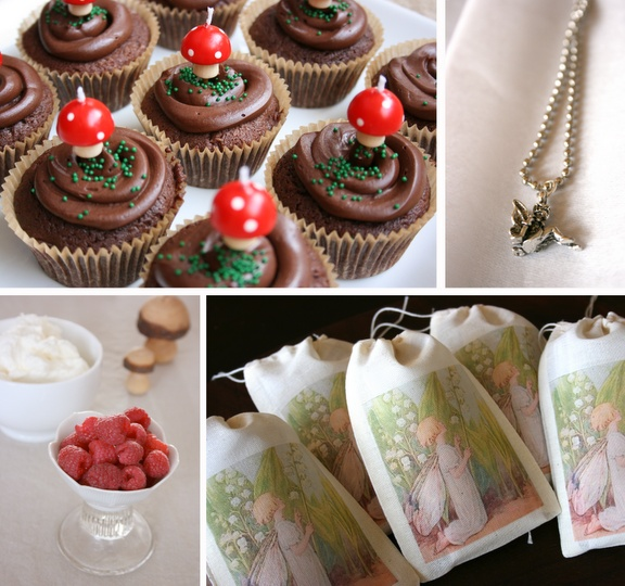 beautiful woodland fairy party ideas