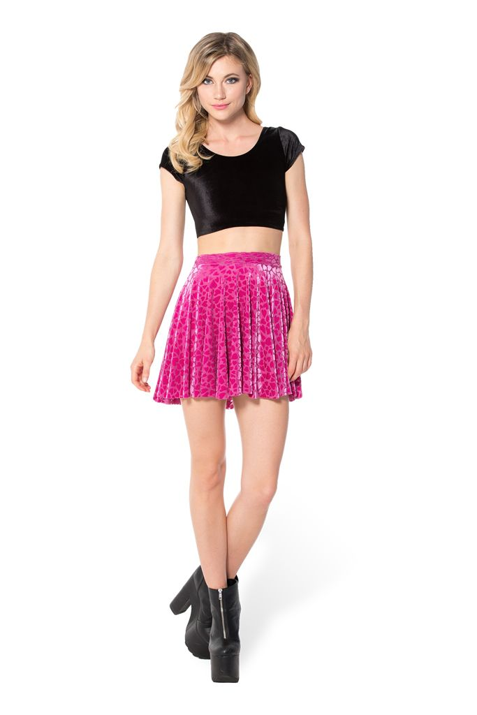 Be Mine Cheerleader Skirt - LIMITED (WW $70AUD / US $65USD) by Black Milk Clothing