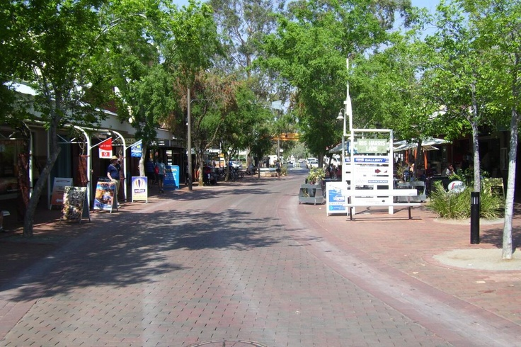 Todd Mall, Alice Springs