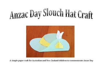 This simple Anzac Day craft idea would be perfect for Australian or New Zealand children commemorating Anzac Day. It could be also used in a study ...