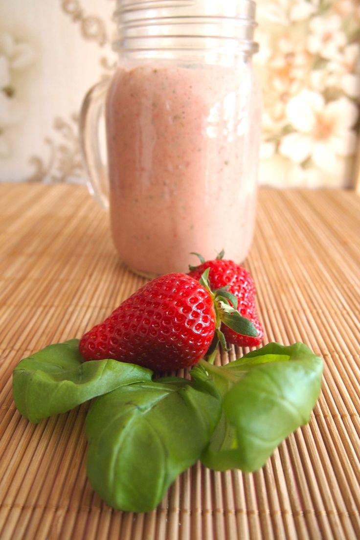 Recept: zoete smoothie met basilicum