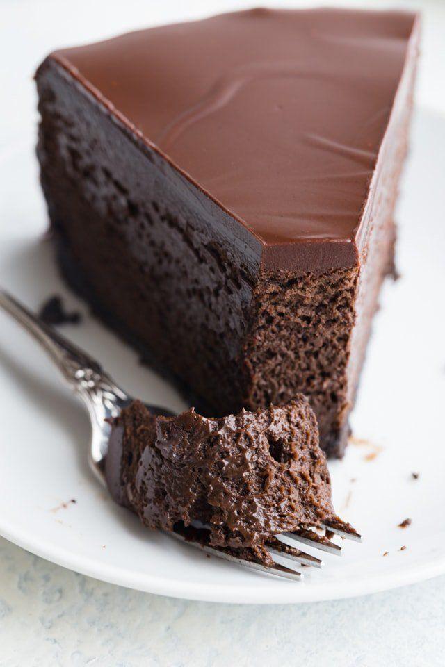 Triple Chocolate Cheesecake #chocolate #cheesecake #dessert
