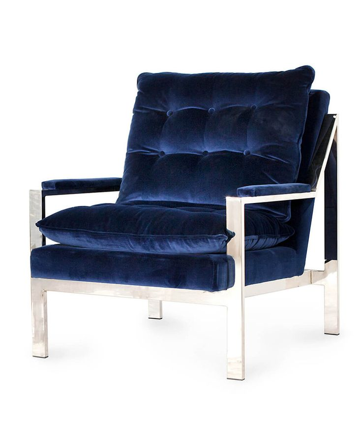 worlds away cameron chair navy blue accent