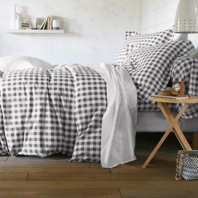 54 best images about linge de lit on pinterest - Housse de couette all black ...