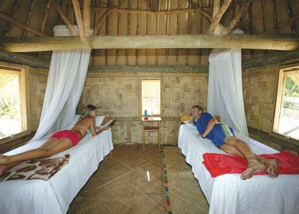 Barefoot Lodge accommodation - home base for Vinaka Fiji volunteers.