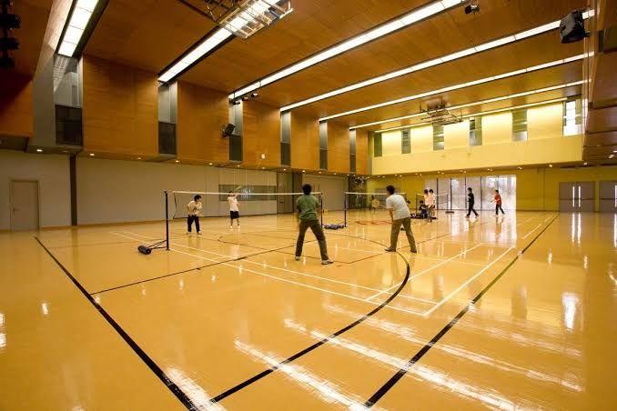 Pin By Aditya Puri On Space University Badminton Court Badminton Club Badminton