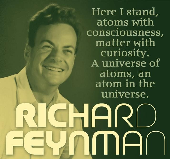 Tweet multimediali di Feynman Lectures (@FeynmanLP) | Twitter