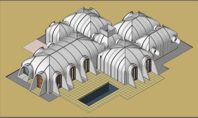 Como hacer una casa Hobbit con techo verde en sólo 3 días