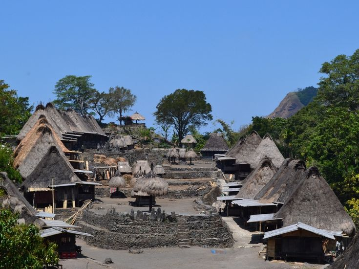 A visit to Flores is not complete without seeing the unique houses of Denge-Waerebo Village