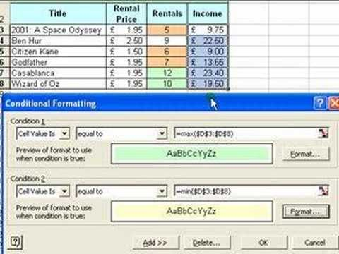 Microsoft Excel Tutorial for Beginners #8 - Formatting Pt.3