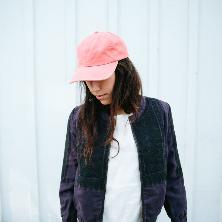 noticed: baseball hats, everywhere. that's biltmore® x madewell baseball hat and folkstitch jacket.