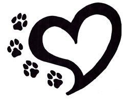 un lindo tatoo para expresar el amor a los animales