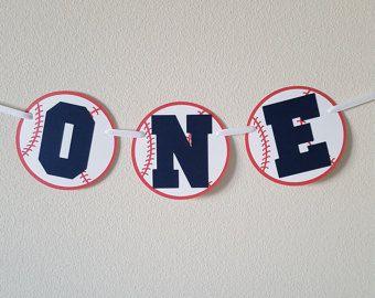 Bandera de béisbol UNA trona de béisbol bandera cumpleaños
