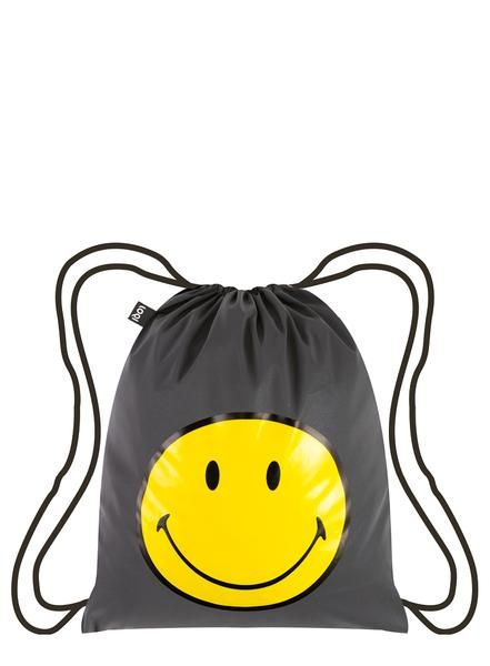 Faster than light. Brighter than a meteorite. Add a single smiley. One can't help but smile at the original icon of pure #happiness  with the white-hot #smiley TIVE #Smiley backpack.