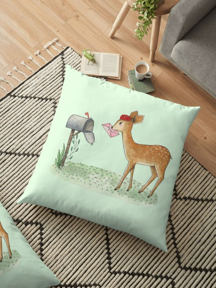 Fawn with letter by Alla Rinchino