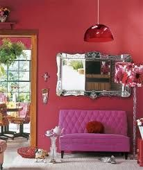 Resultado de imagem para tons vermelhos ou laranjas de tintas acetinadas ou opacas para sala