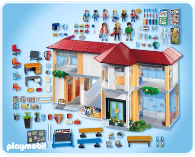 Playmobil Badezimmer 5330, Playmobil Set #3969   Modern Bathroom    Playmobil Badezimmer 4285