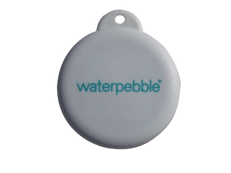 Waterpebble shower timer front als je googled vind je verkoopadressen voor Benelux