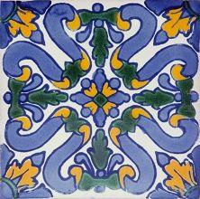 Flores - Płytki ceramiczne 30 sztuk