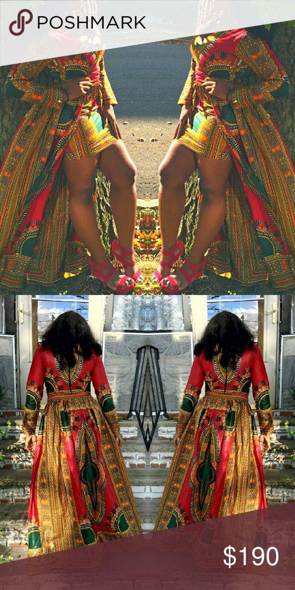 African dress Beautiful long African dress Dresses Mini