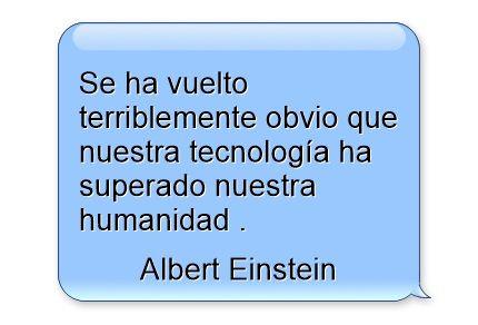 Cita de Albert Einstein