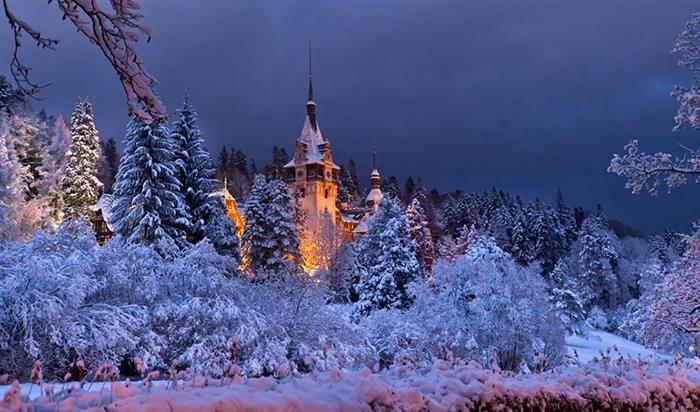 Wintertime Bliss at Peleș Castle