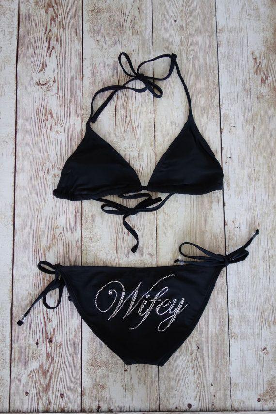 Bikini Top & Bottom for Bride Swimwear by TheLittleBridalShop