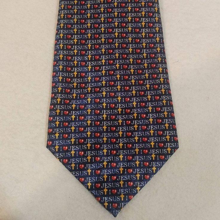 Jesus Church Business Men s Neck Tie Neck Wear by Gospitality Soul Winning Ties by LouisandRileys on Etsy