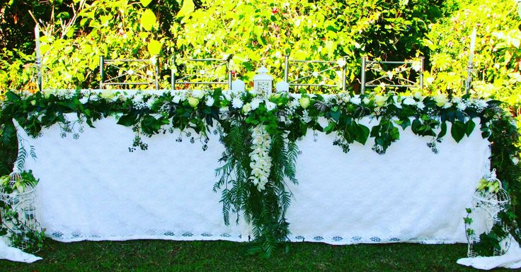 Wedding Garland by Fancy Flowers created by Felicity