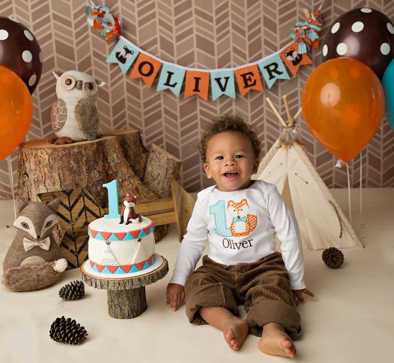 1ST BIRTHDAY BANNER / 1st birthday boy / First birthday ...