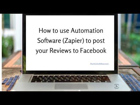 In this video, you'll learn how to use set it and forget it automation via Zapier to post your real estate agent reviews from your website onto Facebook and other social channels - AUTOMATICALLY....