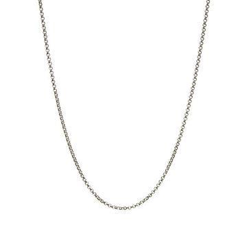 Women Necklaces, Mini Belcher Pendant Chain - 61cm, Official Links of London