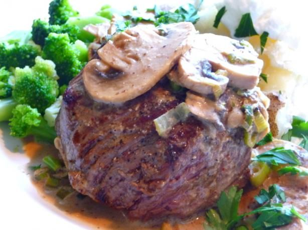 "The Witchery by the Castle Gates Steak Balmoral and Whisky Sauce.     A wonderful recipe for traditional Scottish Steak Balmoral, as served throughout the region and at the famous ""The Witchery"" restaurant located in Edinburgh    Read more: http://www.food.com/recipe/the-witchery-by-the-castle-gates-steak-balmoral-and-whisky-sauce-390131#ixzz1zVpYJJ4z    Photo by BecR Food.com"