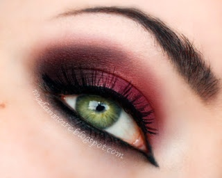 Cranberry eyes #cranberry #eyes #makeup