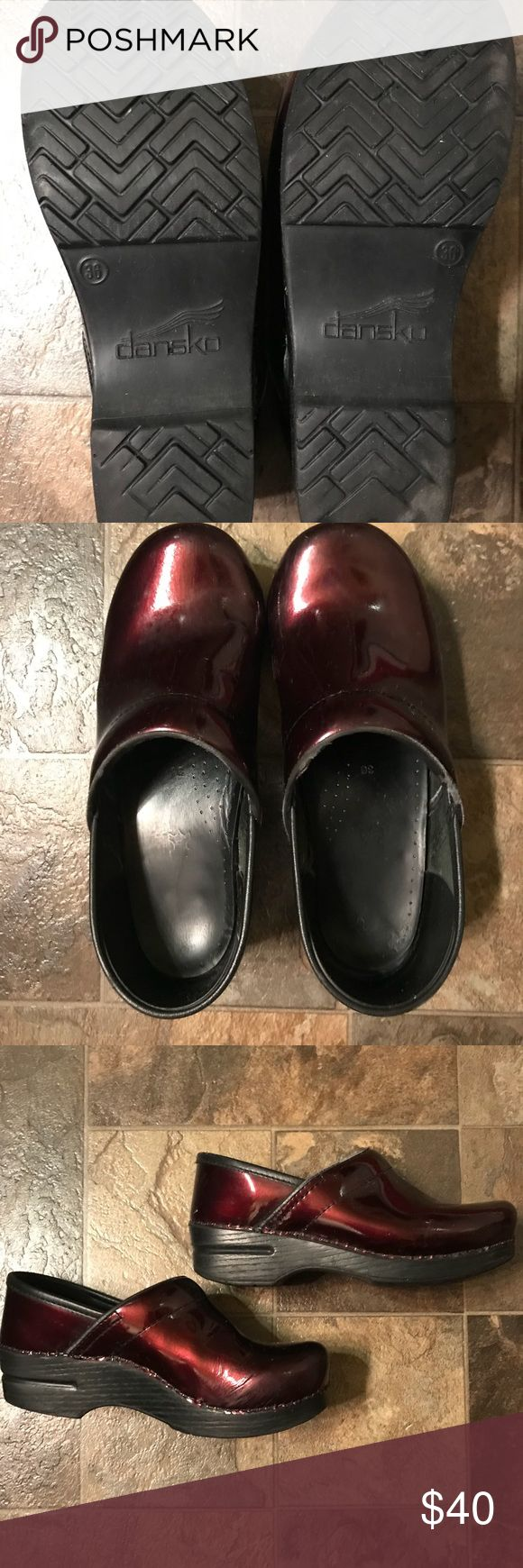 Red Dansko Clogs. Size 36. Red Dansko Clogs. Size 36. Good condition. Normal wear and tear. Dansko Shoes Mules & Clogs
