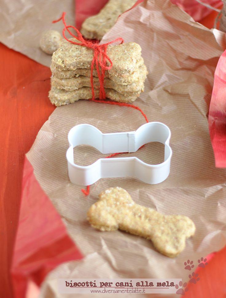 biscotti per cane homemade www.diversamentelatte.it
