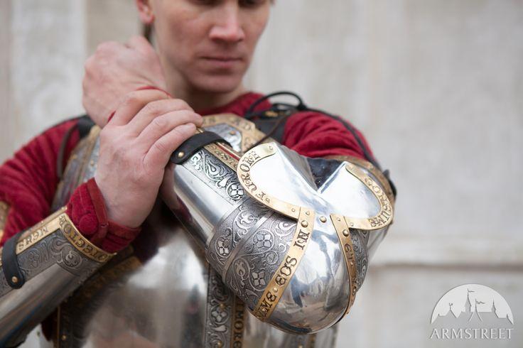 """Armatura Occidentale Medievale di Cavaliere """"La guardia del Re"""""""