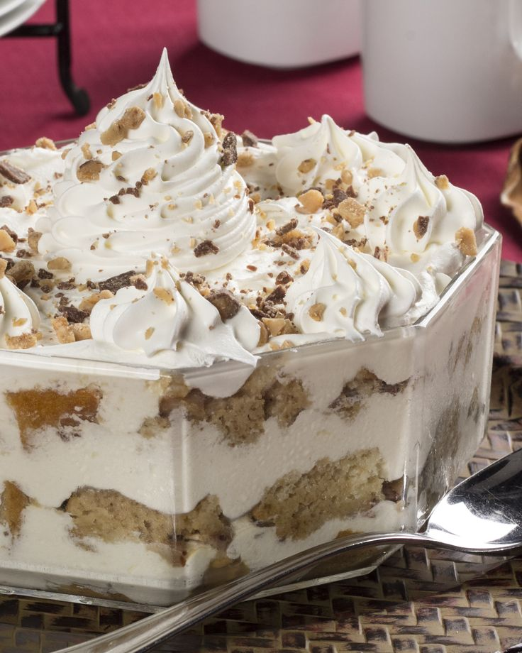 This Tiramisu Trifle has everything you love in a tiramisu, with no cooking or baking involved.