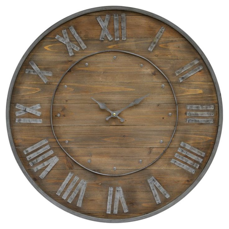 Ren-Wil Authentic Eclectic Teatime 24 in. Wall Clock - CL211