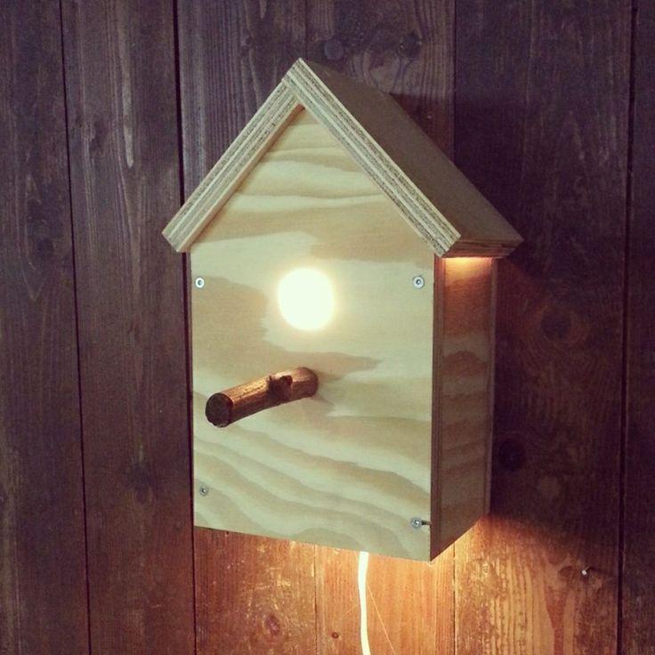 Vogelhuisje met lampje | Room26 via Kinderkamerstylist