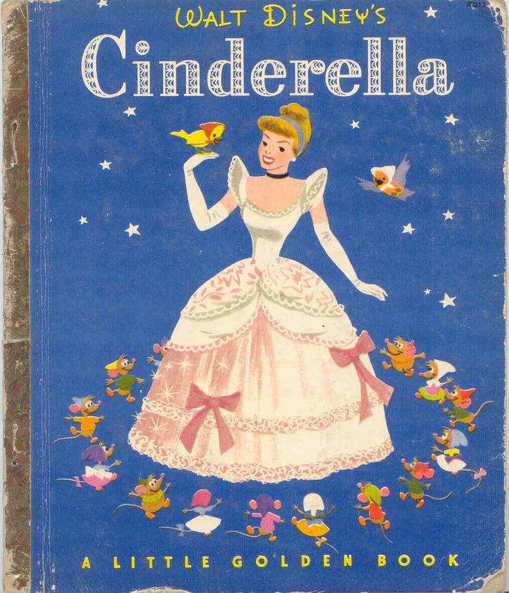 Cinderella Golden Book  Seems like I had this exact book...