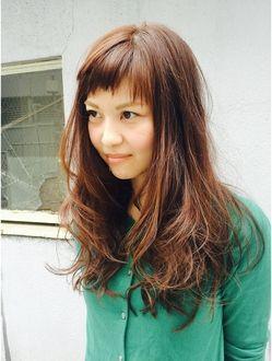 カタチヘアー(HAIR) 前髪短いかわいいロングのカタチ