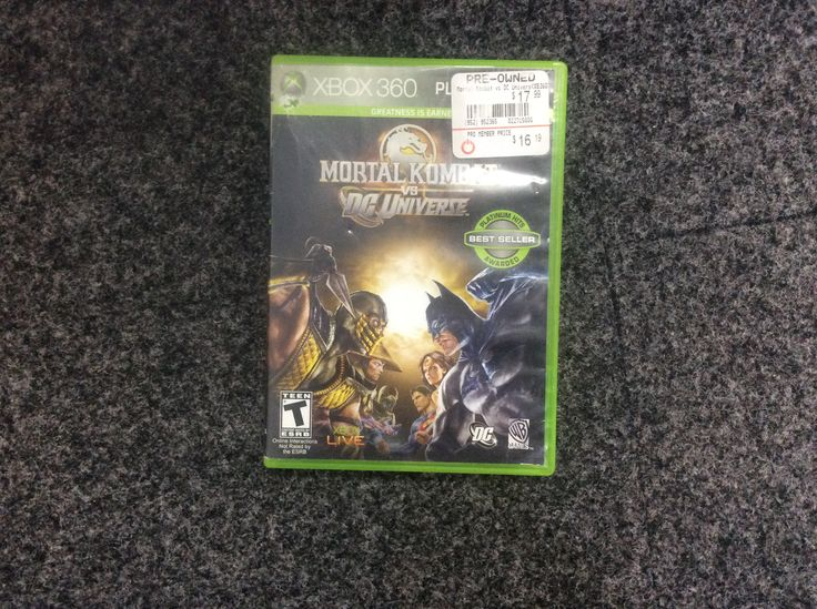 Mortal Kombat vs. DC Universe for Xbox 360. Priced at $5.99, available at Gadgets and Gold!