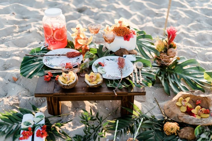 Tropical Beach Wedding Ideas From Germany