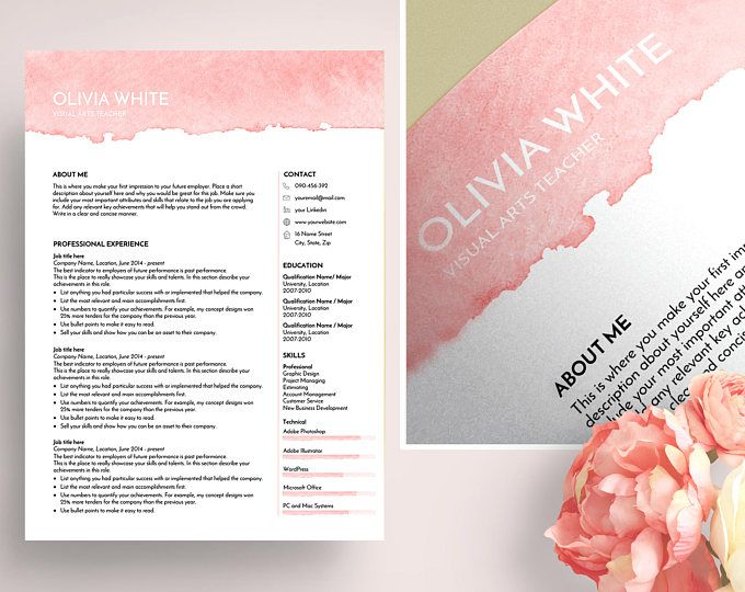 The 25+ best Recipe template for word ideas on Pinterest - art teacher resume
