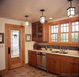 Luxury Arts and Crafts Style Kitchen Cabinets