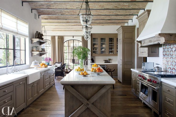 17 Best Ideas About French Farmhouse Kitchens On Pinterest