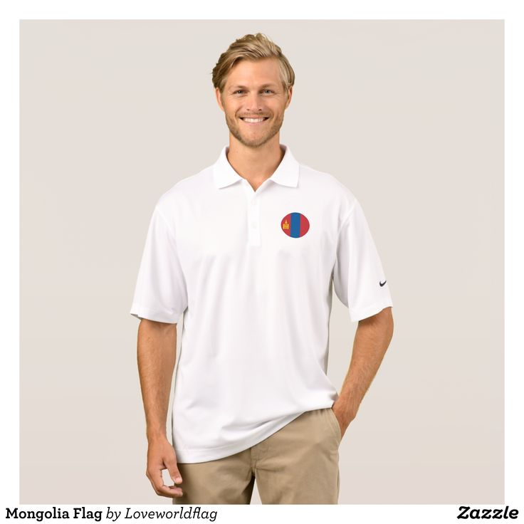 Mongolia Flag Polo Shirt - Cool And Comfortable Golfer Polo Shirts By Talented Fashion & Graphic Designers - #polo #gold #golfing #mensfashion #apparel #shopping #bargain #sale #outfit #stylish #cool #graphicdesign #trendy #fashion #design #fashiondesign #designer #fashiondesigner #style