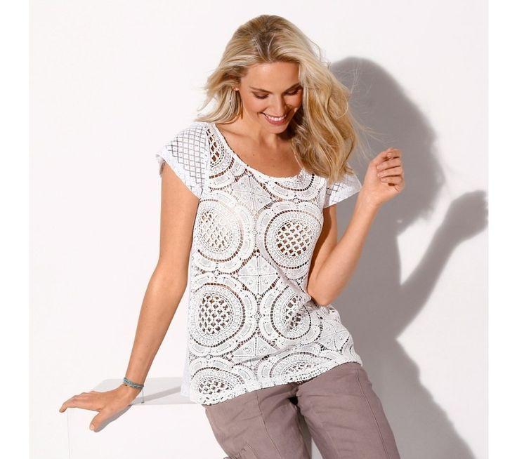 Tričko s grafickým vzorom | blancheporte.sk #blancheporte #blancheporteSK #blancheporte_sk #letnakolekcia