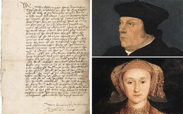 A rare letter written by Thomas Cromwell attempting to speed up Henry VIII's marriage to Anne of Cleves has emerged for sale! http://www.telegraph.co.uk/history/9322677/Thomas-Cromwell-letter-to-Henry-VIII-before-Anne-of-Cleves-marriage-discovered.html#